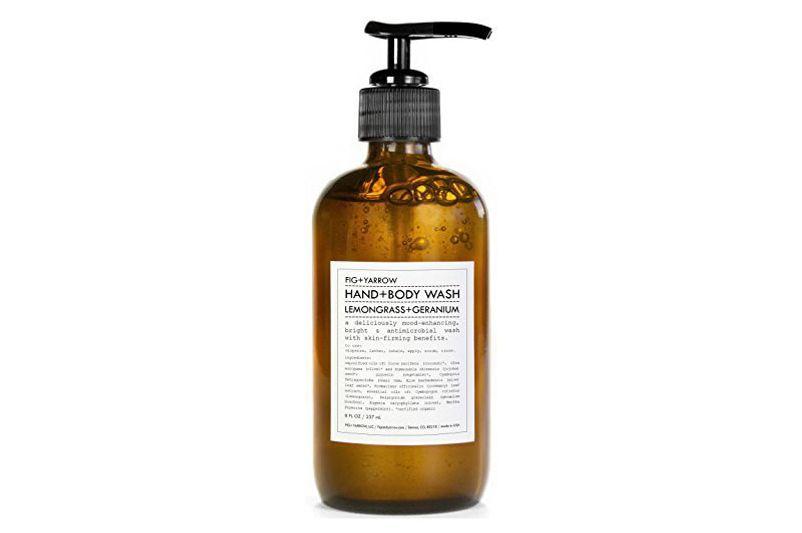 Fig + Yarrow Organic Hand and Body Wash (Lemongrass+Geranium)