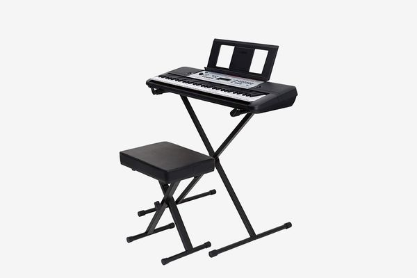 Yamaha Portable Keyboard With Stand and Bench