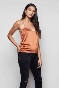 Good American The Ruched Cami