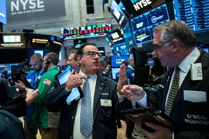 Good Economic News Triggers Stock-Market Plunge