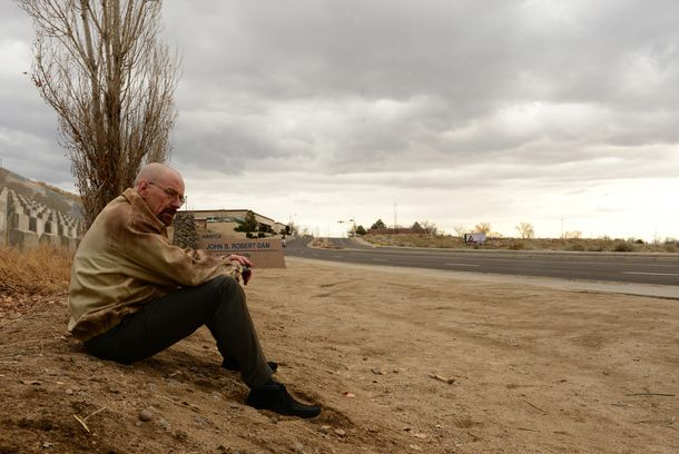 Walter White (Bryan Cranston) - Breaking Bad _ Season 5, Episode 14 - Photo Credit: Ursula Coyote/AMC