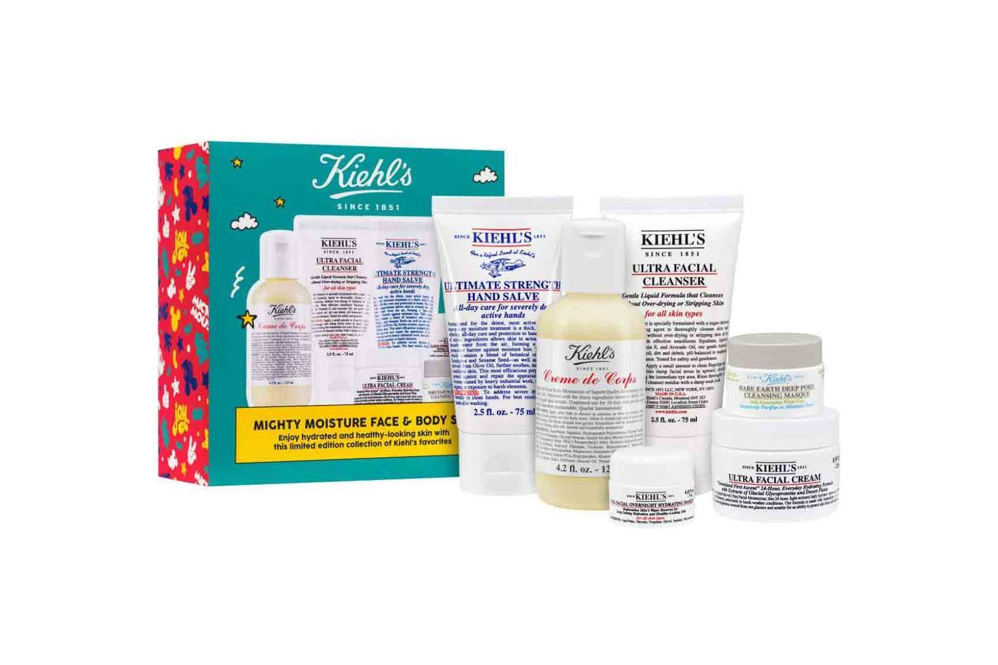 Disney x Kiehl's Since 1851 Mighty Moisture Face & Body Set