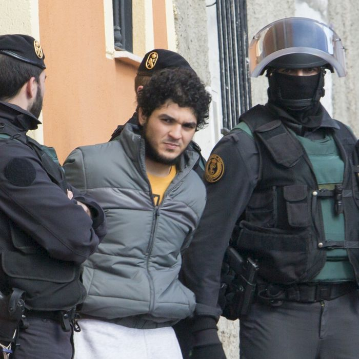 SPAIN-TERROR-JIHAD-POLICE-ARREST