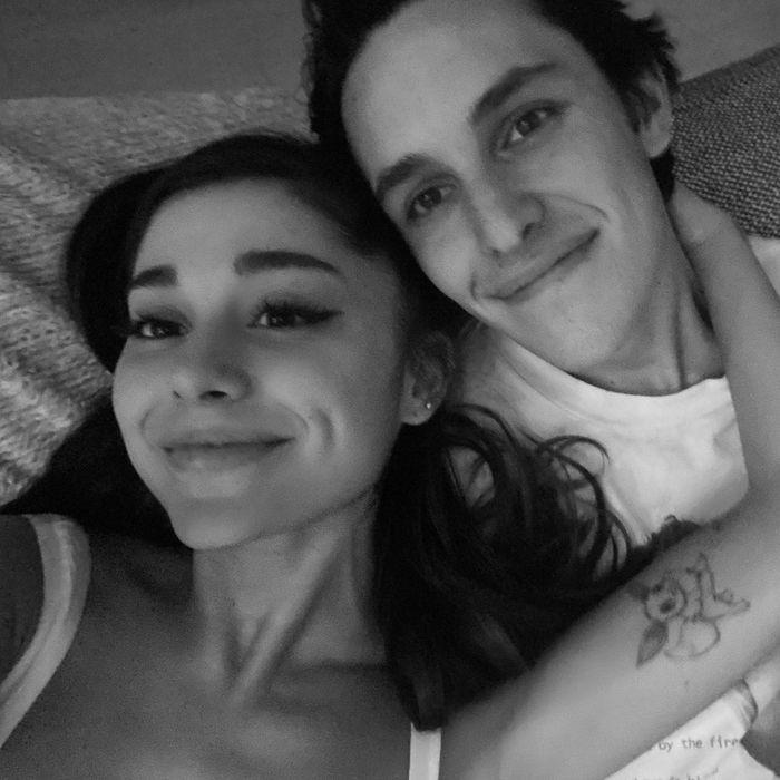 Ariana Grande and Dalton Gomez.