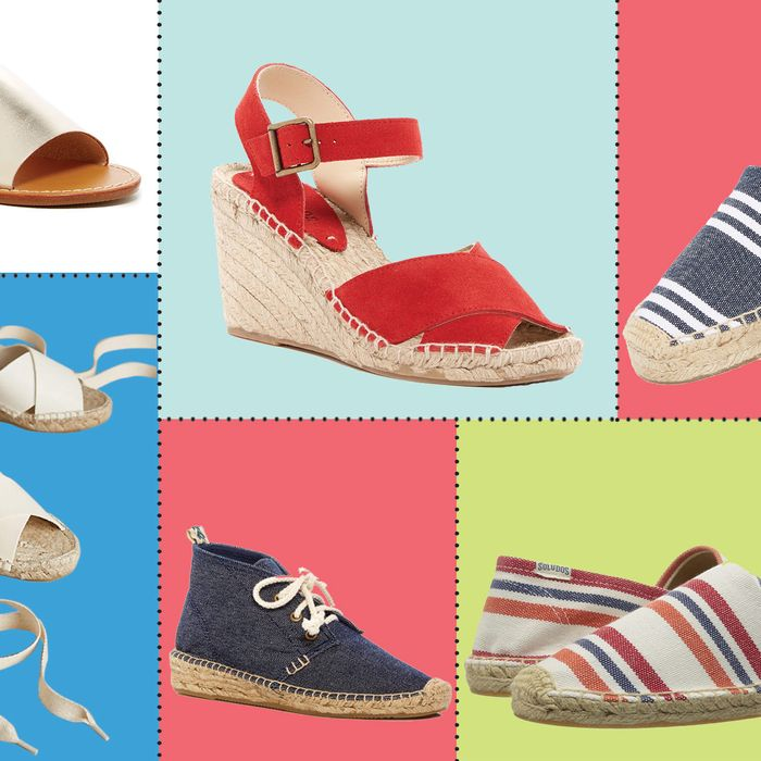 3b1b7686ed1 ... across the internet are brimming with Soludos espadrilles and flats.  We re not complaining  It s almost sandal season