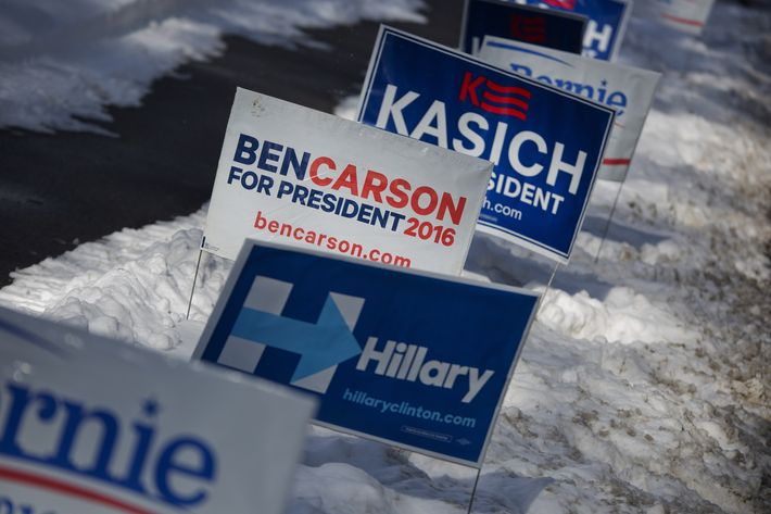 New Hampshire Residents Vote In The First-In-The-Nation New Hampshire Primary