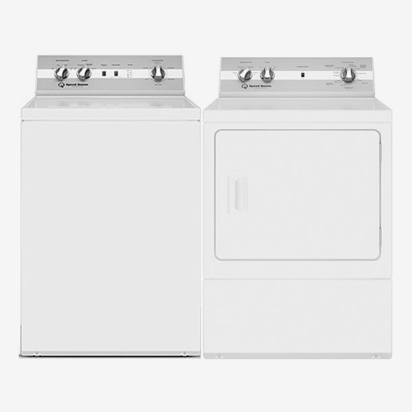 Speed Queen TC5000WN 26-Inch Top-Load Washer and DC5000WE 27-Inch Electric Dryer Combo