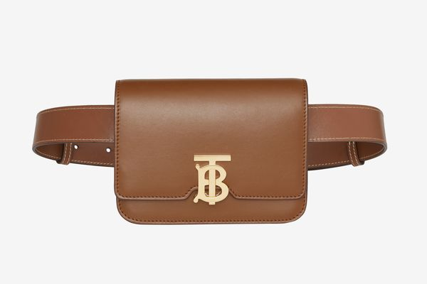 Leather Belted TB Bag