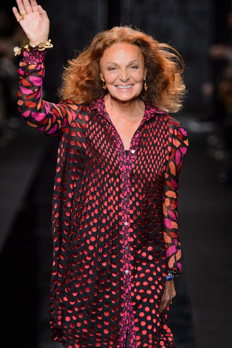 Diane Von Furstenberg - Fall 2015 RTW - The Cut