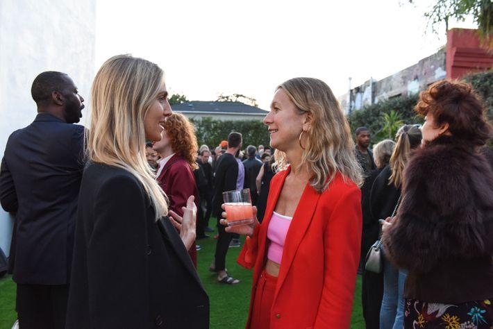 Jessica de Ruiter and Natalie Joos