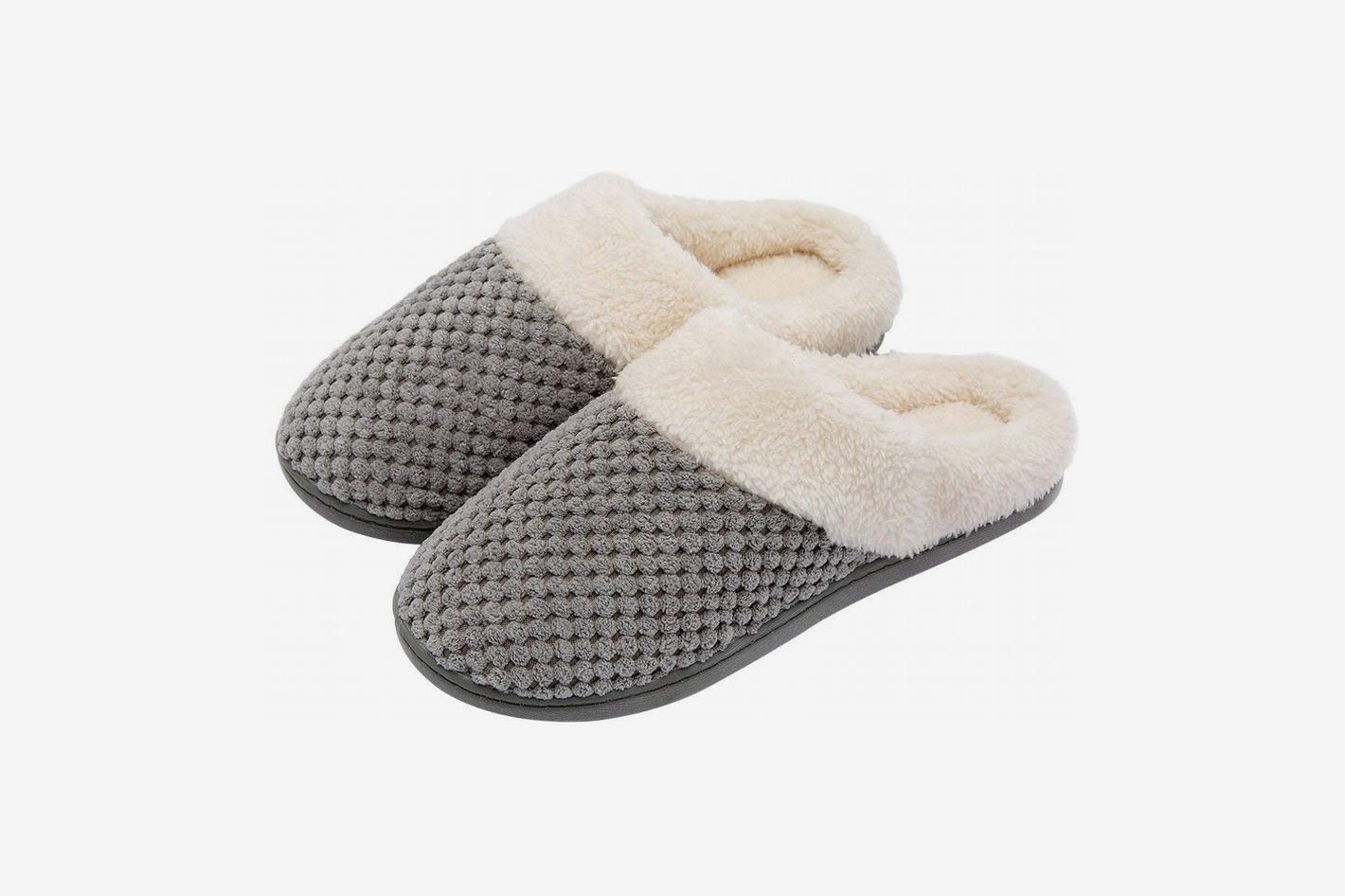d8378f84da8 Women s Soft Slip-on Memory Foam Slippers