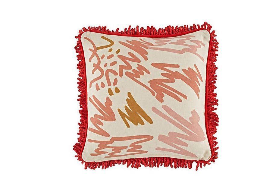 The Land of Nod Jenny Pennywood Shag Pillow