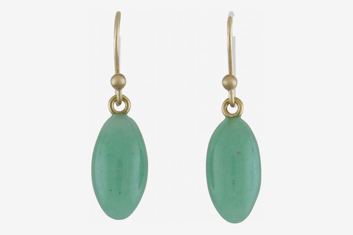 Ted Muehling Green Aventurine Berry Earrings