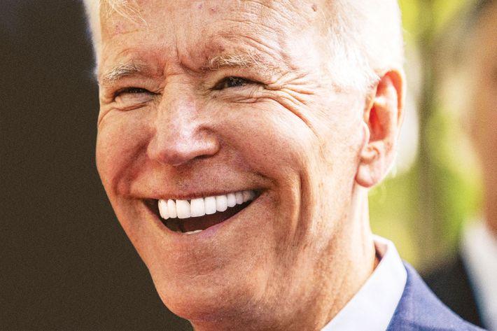 Former vice-president Joe Biden.