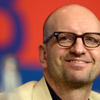 US director Steven Soderbergh addresses a press conference for the film 'Side effects' presented in the Berlinale Competition of the 63rd Berlin International Film Festival in Berlin on February 12, 2013.