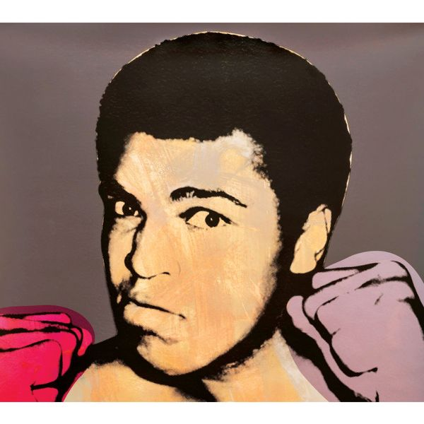 """Ali,"" by Flavor Paper / Andy Warhol"