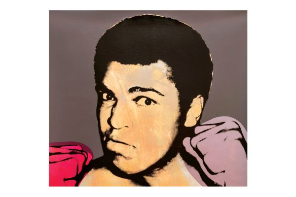 """""""Ali,"""" by Flavor Paper / Andy Warhol"""