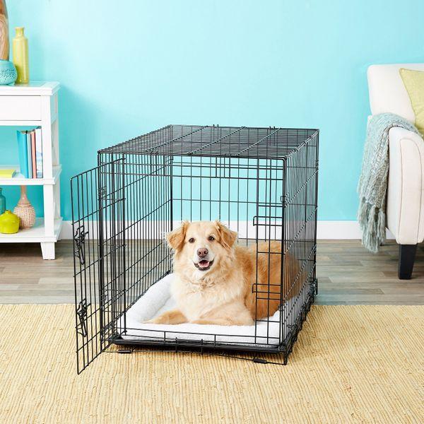 Frisco Fold & Carry Single Door Dog Crate (36-Inch)