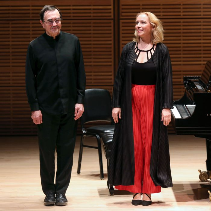 Aimard and Stefanovich at Zankel Hall.