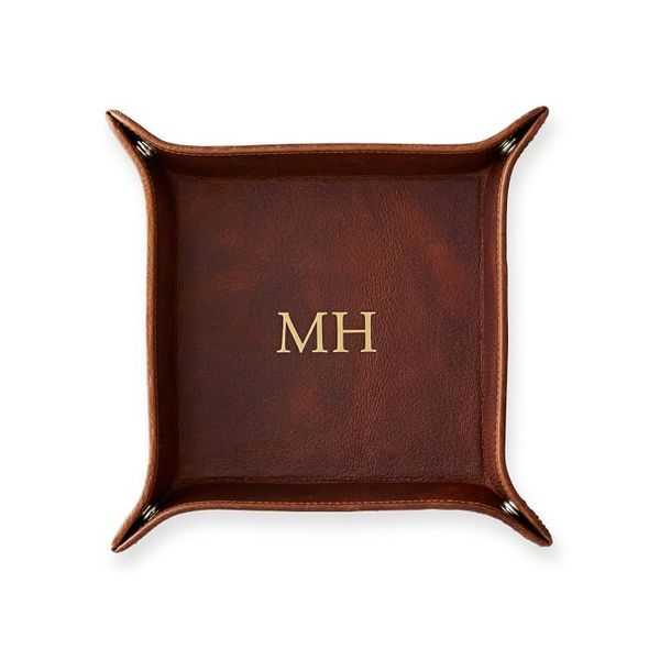 Mark & Graham Classic Leather Catchall Tray