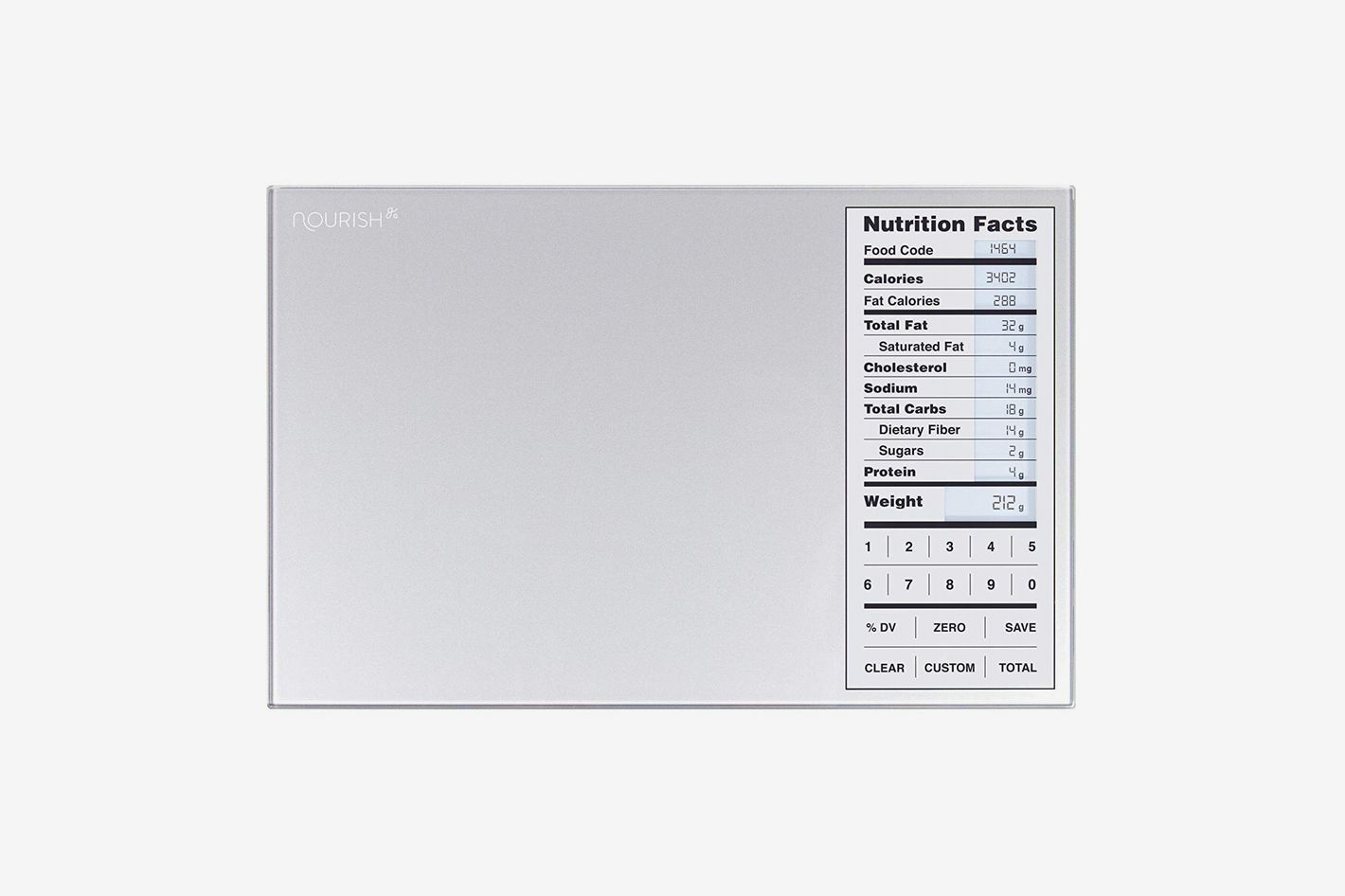 bakers math kitchen scale stainless steel