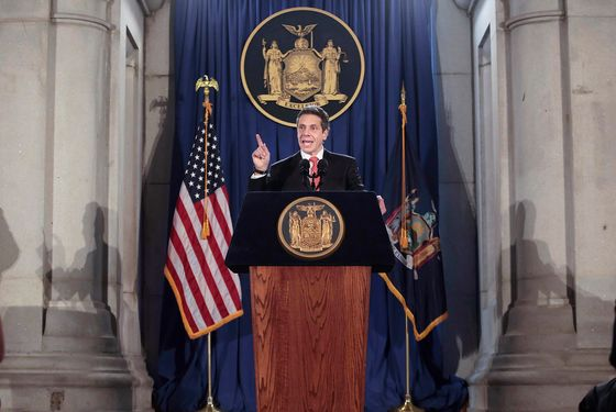 Gay Marriage All Goes According to Andrew Cuomo's Plan