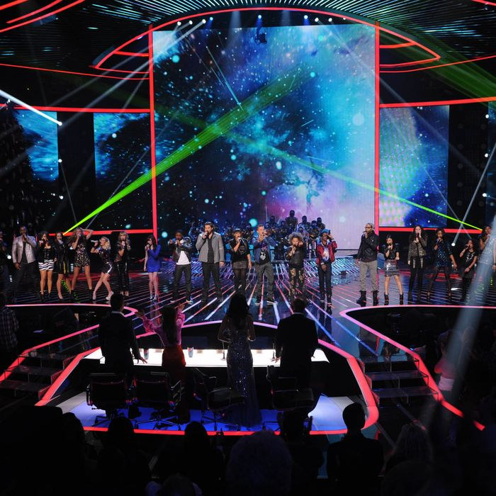 THE X FACTOR: Finale: The Top 12 Contestants perform on THE X FACTOR Dec. 22 (8:00-10:00 PM ET/PT) on FOX.
