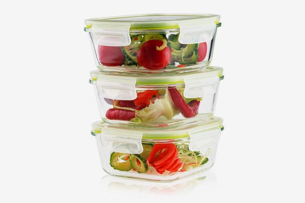 Living Express 6 Pieces Glass Food Storage Container Set