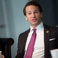 Representative Aaron Schock, a Republican from Illinois, speaks during an interview in Washington, D.C., U.S., on Thursday, Jan. 9, 2014.