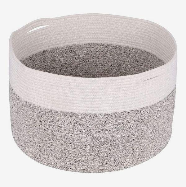 UMI Woven Cotton Rope Laundry Hamper