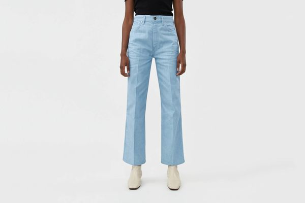 Goldsign The A Jean in Pale Blue