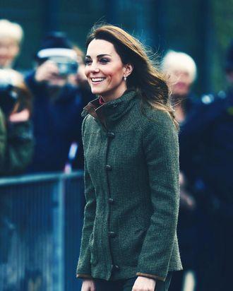 Kate Middleton, before pizza.
