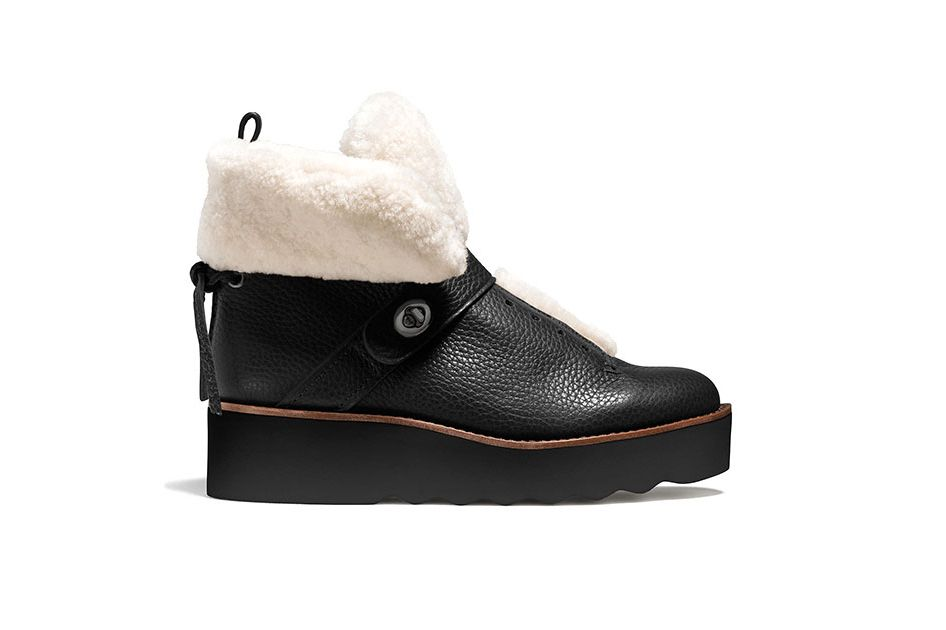 Coach Urban Hiker shearling boots