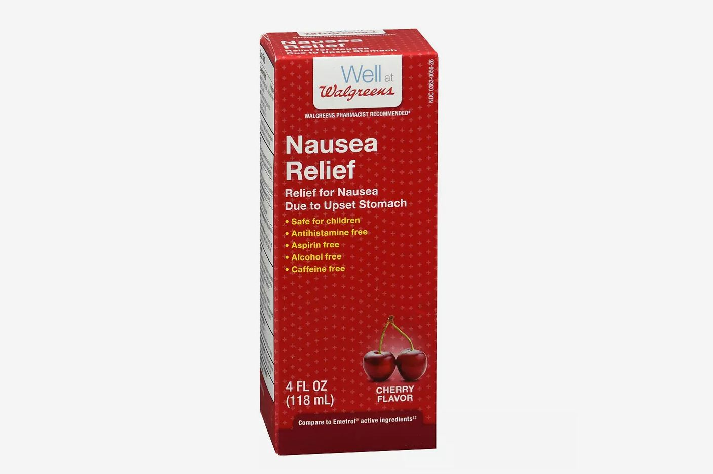 Walgreens Anti-Nausea Syrup Cherry