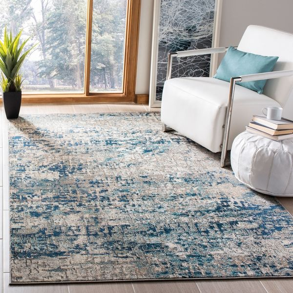 Safavieh Madison Loane Modern Abstract Rug, 4 x 6 Feet