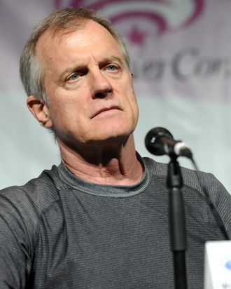 ANAHEIM, CA - APRIL 18: Actor Stephen Collins promotes NBC's