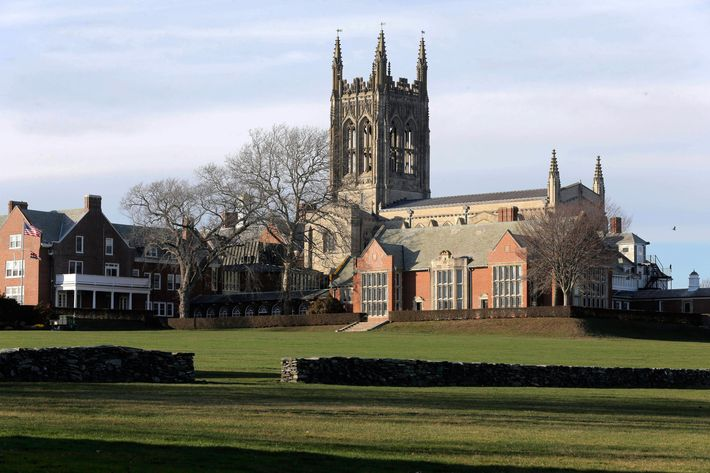 St. George's School in Rhode Island is one of at least eight New England private schools currently investigating alleged sexual misconduct.