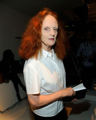 Grace Coddington.