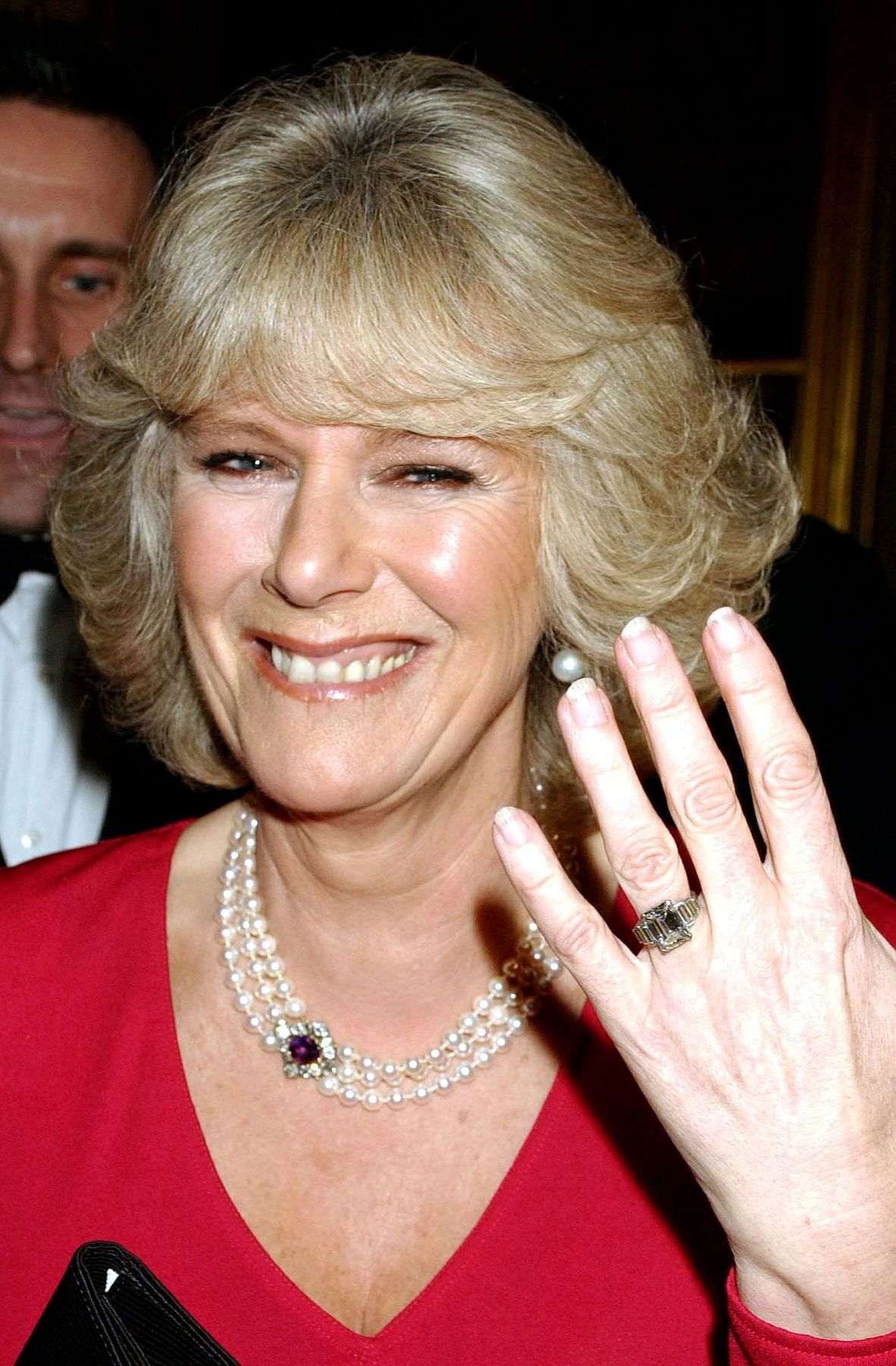 Valuation Haircut : Camilla Parker Bowless Engagement Ring