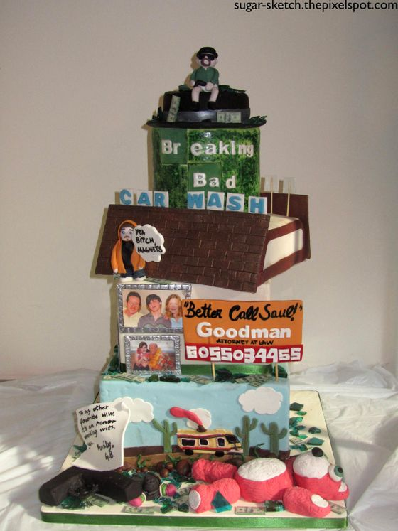 Stupendous Baking Bad 14 Over The Top And Funny Embreaking Bad Em Finale Funny Birthday Cards Online Overcheapnameinfo
