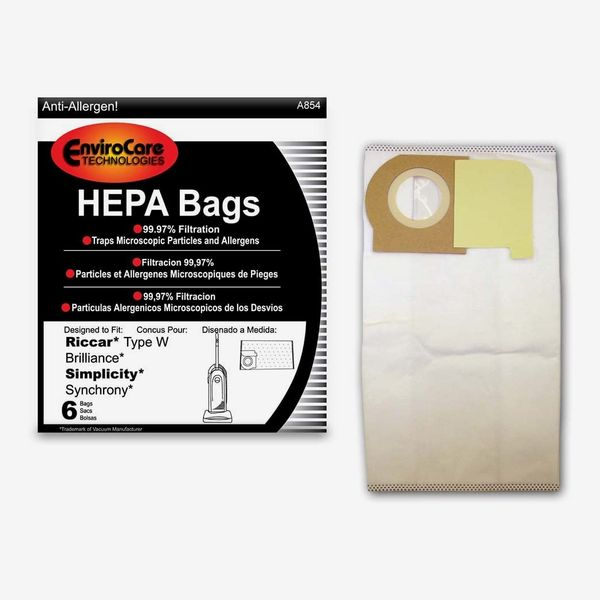 EnviroCare Replacement HEPA Filtration Vacuum Cleaner Dust Bags