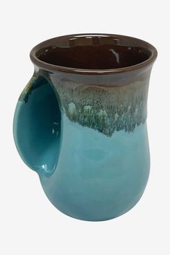 Clay in Motion Handwarmer Mug (Left-Handed)