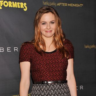 NEW YORK, NY - NOVEMBER 14: Actress Alicia Silverstone attends the after party for the opening night of