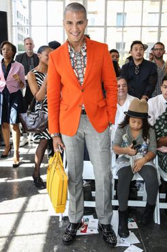 NEW YORK, NY - SEPTEMBER 06:  TV personality Jay Manuel attends the Duckie Brown fashion show during Mercedes-Benz Fashion Week Spring 2014 at Industria Superstudio on September 6, 2013 in New York City.  (Photo by Chelsea Lauren/Getty Images)
