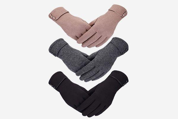 Patelai Touchscreen Windproof Winter Gloves