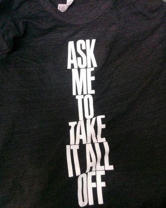 American Apparel's Black Friday T-shirt