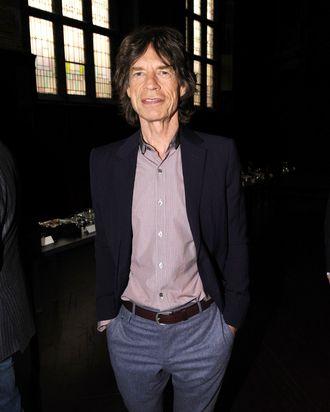 Musician Mick Jagger