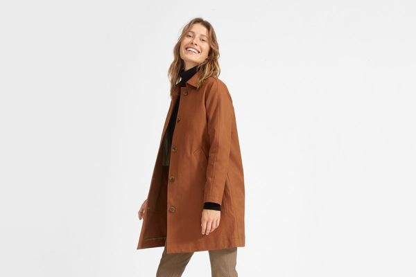 Everlane Mac Coat, Cocoa Brown