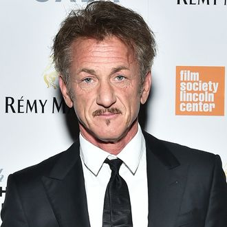 Sean Penn wears same outfit to Philly event that he wore ...  |Sean Penn