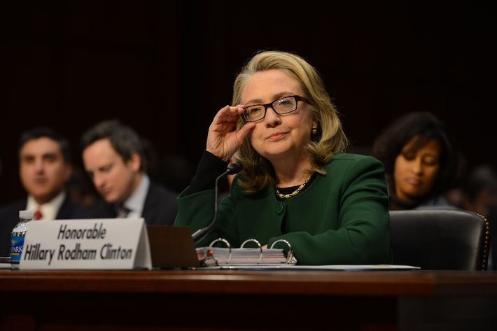 1/23/13- Hart Senate Bldg. Capitol Hill- Washington DC  Secretary of State Hillary Clinton testifies before the Senate Foreign Relations Committee about the Benghazi attacks .  photo: Christy Bowe - ImageCatcher News